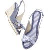 Sandals Blue - ウェッジソール -