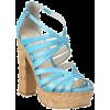 Sandals Blue Sandals - Sandały -