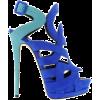 Sandals Blue - Sandals -