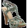 Sandals Green - 凉鞋 -