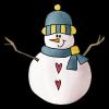 Snowman - イラスト -