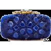 sapphire blue - Torby z klamrą -