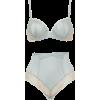 satin and lace underwear - Underwear -