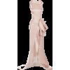 satin dress - Dresses -