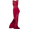 satinee gown - Dresses -