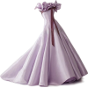 satinee lavender gown - ワンピース・ドレス -