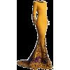 satinee yellow Nicolas Jebran  - ワンピース・ドレス -
