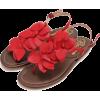 SHIPS for women BISUE:フラワー Tストラップ サンダル - Sandals - ¥14,700  ~ $130.61