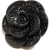 UNITED ARROWS AL ROSE&CRYSTAL BROOCH - Jewelry - ¥5,460  ~ $48.51