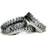 set of silver crown rings - Prstenje -