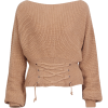 sexy off-the-shoulder sweater - Bolero - $25.99