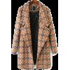 sheinside geometric coat - Jacket - coats -