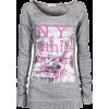 Long sleeves t-shirts Gray - Long sleeves t-shirts -