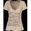 T-shirts Beige - T-shirts -