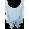 shirt crop top, - Koszulki - krótkie -