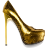 Shoes Gold - Sapatos -
