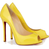 Shoes Yellow - Sapatos -
