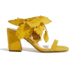 shoes yellow1 - Sandals -