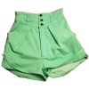 Shorts Green Shorts - 短裤 -