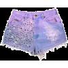 Shorts Purple - Shorts -