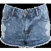 Shorts Blue - Shorts -