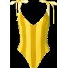 Sian, Stripe, Swim, Gold, Yellow - Costume da bagno -