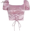 silk top - Bolero -