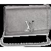 silver bag1 - Clutch bags -