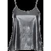 silver cami - Tanks -