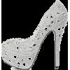 silver shoes1 - Klasyczne buty -