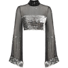 silver top - Bolero -