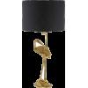 sissyboy lamp in black and gold - Luči -
