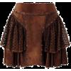 Skirts Brown - Skirts -