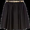 Skirts Black - スカート -