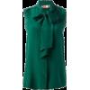 sleeveless blouse - Shirts -