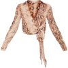 snake print - Camicie (lunghe) -