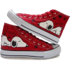 snoopy high tops - Tenisice -