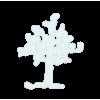 snow tree outline - Przedmioty -