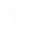 snow tree outline - Items -