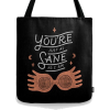 society6 Harry Potter tote Luna quote - Travel bags -