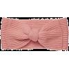 solid bow headband - Kape -