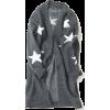 star print knit long cardigan  - Cardigan -