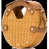 straw shoulder bag - Mensageiro bolsas -