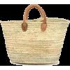 straw bag - ハンドバッグ -