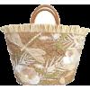 straw bag - Travel bags -