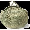 straw basket bag - Torebki -