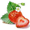 strawberry - フード -