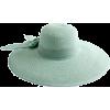straw hat - 有边帽 -