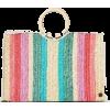stripe tote - Hand bag -