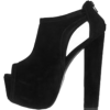 suéde black heels - Classic shoes & Pumps -